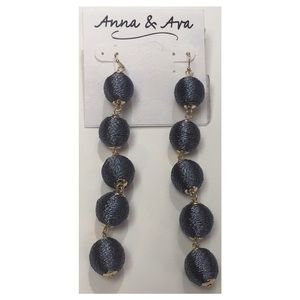 Anna & Ava Earrings, New With Tags, Color - Silver